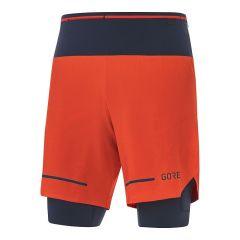 GORE® Wear Ultimate 2in1 Short Herren orange
