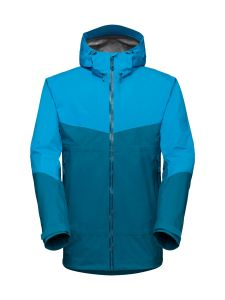 Mammut Convey Tour HS Hooded Jacket Herren blau