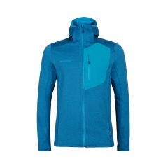 Mammut Aconcagua Light ML Hooded Jacket Herren Blau