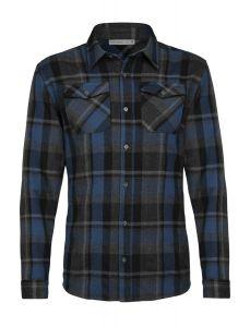 Icebreaker Lodge LS Flannel Shirt Herren