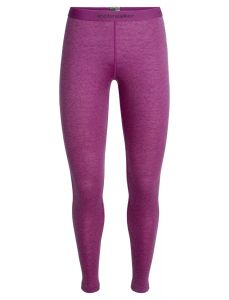 Icebreaker 200 Oasis Leggings Sky Paths Damen