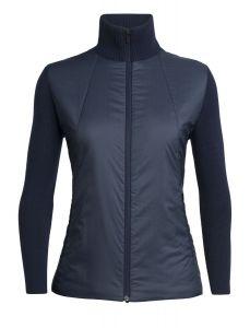 Icebreaker Lumista Hybrid Sweater Jacket Damen