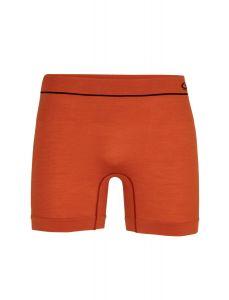 Icebreaker Anatomica Seamless Boxers Herren orange