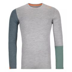 Ortovox 185 ROCK'N'WOOL LONG SLEEVE Herren grau