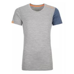 Ortovox 185 ROCK'N'WOOL SHORT SLEEVE Damen grau