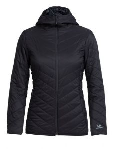 Icebreaker Hyperia Hooded Jacket Damen