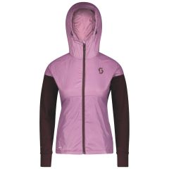 SCOTT Explorair Ascent Polar Hoody Damen rosa