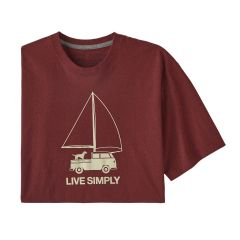 Patagonia Live Simply Wind Powered Responsibili Tee Herren