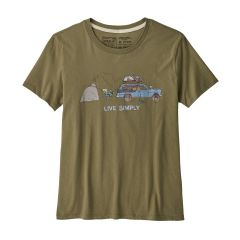 Patagonia Live Simply Lounger Organic Cotton T-Shirt Damen