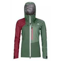 Ortovox 3L Ortler Jacket Damen grün