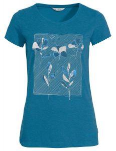 Vaude Skomer  T-Shirt Damen blau