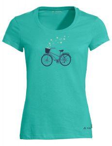 Vaude  Cyclist V T-Shirt Damen türkis
