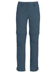 Vaude Skomer ZipOff Pants II Damen blau