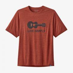 Patagonia Cap Cool Daily Graphic Shirt Herren rot