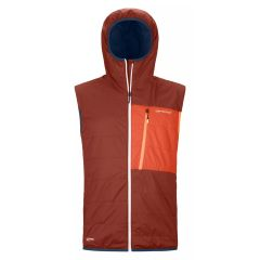 Ortovox SWISSWOOL PIZ DUAN VEST Herren orange