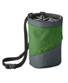Edelrid Chalk Bag Splitter Twist grün