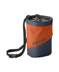 Edelrid Chalk Bag Splitter Twist orange