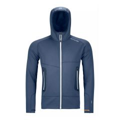 Ortovox FLEECE LIGHT HOODY Herren blau