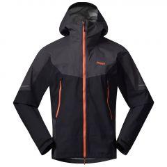 Bergans Senja 3L Jacket Herren schwarz