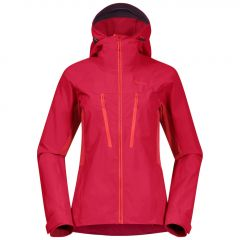 Bergans Cecilie Mountain Softshell Jacket Damen rot