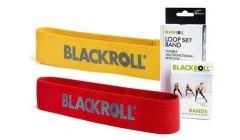 Blackroll Loop Band Set gelb/rot   |  sehr leicht / mäßig
