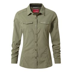 Craghoppers NosiLife Adventure LS Shirt Damen
