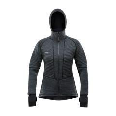 Devold TINDEN SPACER Hood Jacket Damen grau