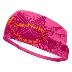 Dynafit GRAPHIC PERFORMANCE HEADBAND pink