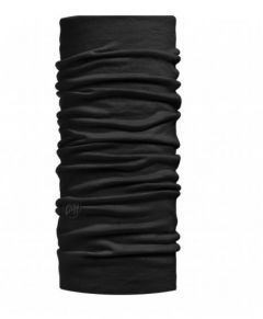 Buff LIGHTWEIGHT MERINO WOOL SOLID schwarz