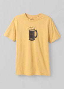 Prana Beer Belly Journeyman T-Shirt Herren gelb