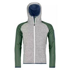 Ortovox Fleece Plus Classic Knit Hoody Herren grün