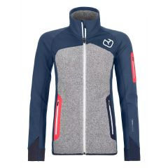 Ortovox Fleece Plus Jacket Damen blau