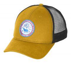 Ortovox STAY IN SHEEP TRUCKER CAP Gelb