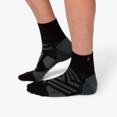 On Mid Sock Herren schwarz