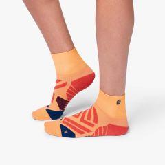 On Mid Sock Damen orange
