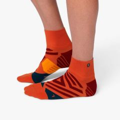 On Mid Sock Herren orange