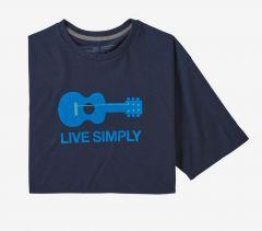 Patagonia Live Simply Guitar Responsibili-Tee Herren