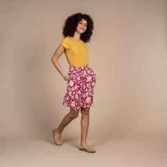 Sherpa Padma Pull-On Skirt Damen rot