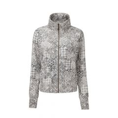 Sherpa Santi Full Zip Jacket Damen grau