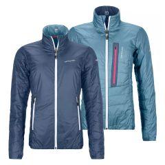 Ortovox Swisswool PIZ BIAL Jacket Damen blau