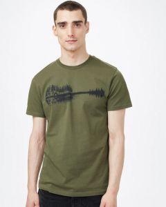 Tentree Summer Guitar T-Shirt Herren grün