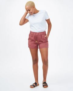 Tentree Instow Short Damen rot