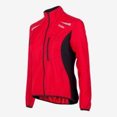Fusion S1 Run Jacket Damen rot