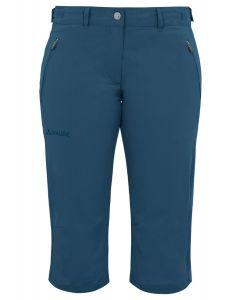 Vaude Farley Stretch Capri II Damen blau