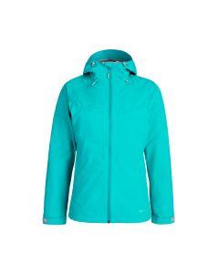 Mammut Convey 3 in 1 HS Hooded Jacket Damen türkis/grau