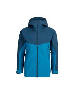 Mammut Crater HS Hooded Jacket Herren blau