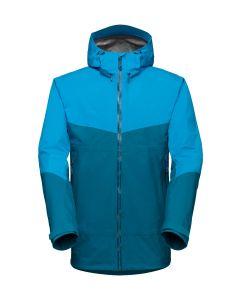 Mammut Convey Tour HS Hooded Jacket Herren blau