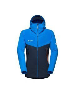 Mammut Aenergy Pro SO Hooded Jacket Herren blau