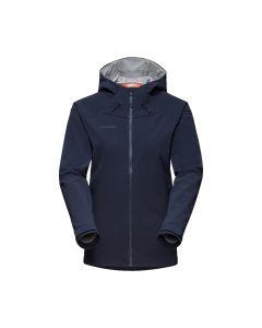 Mammut Sapuen SO Hooded Jacket Damen marine