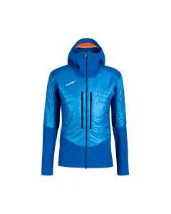 Mammut Eisfeld SO Hybrid Hooded Jacket Herren blau